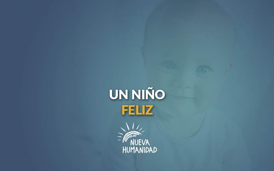 Un niño feliz