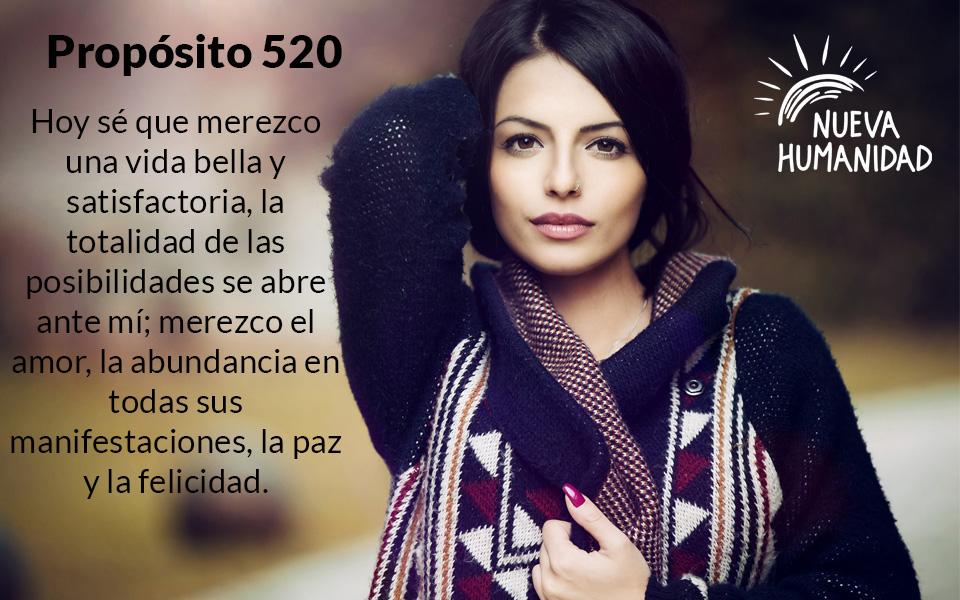 Propósito 520 Merecimiento