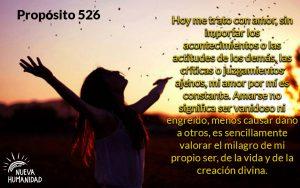 Nueva Humanidad Proposito Para Cada dia Proposito 526