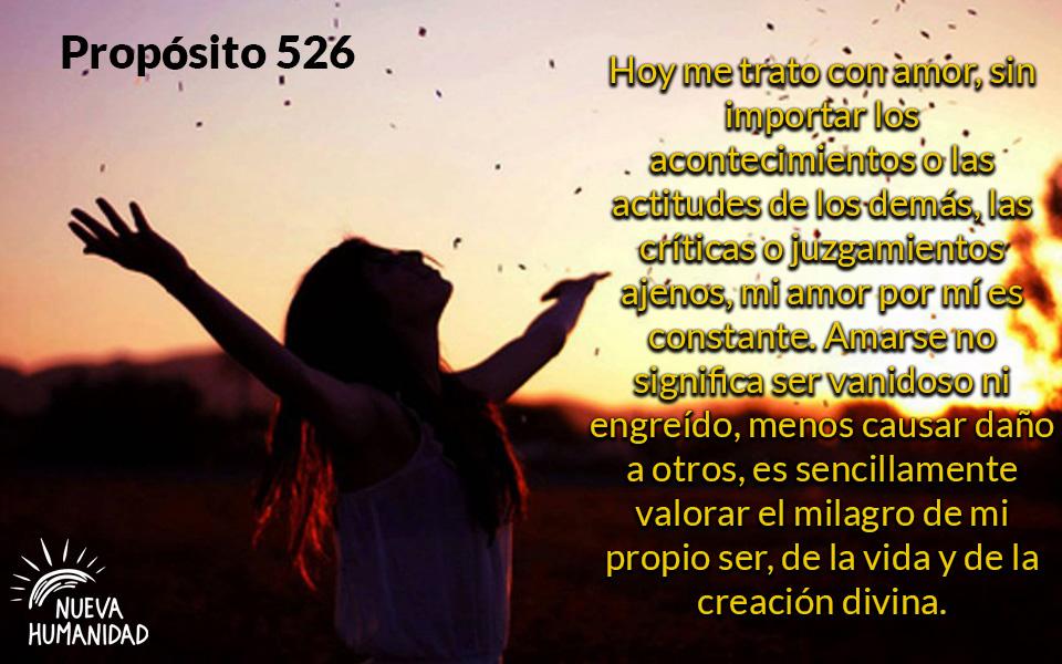Propósito 526 Amor propio