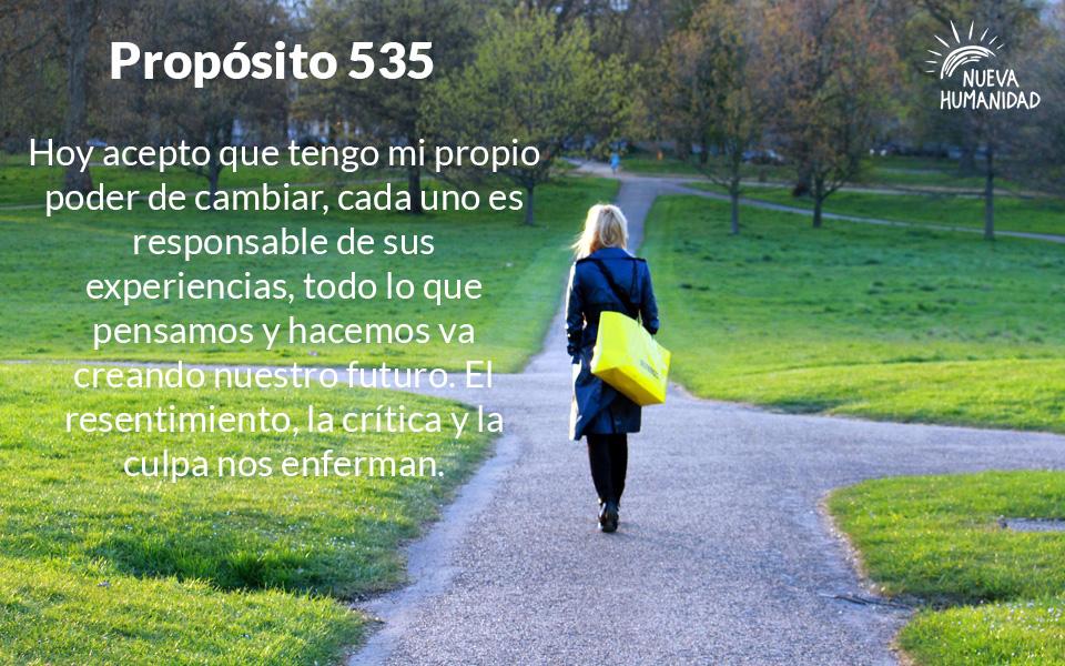 Nueva Humanidad Proposito Para Cada dia Proposito 535