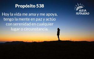 Nueva Humanidad Proposito Para Cada dia Proposito 538