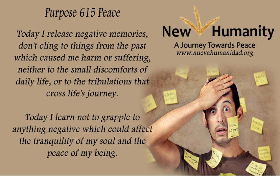Nueva Humanidad Purpose 615 Peace