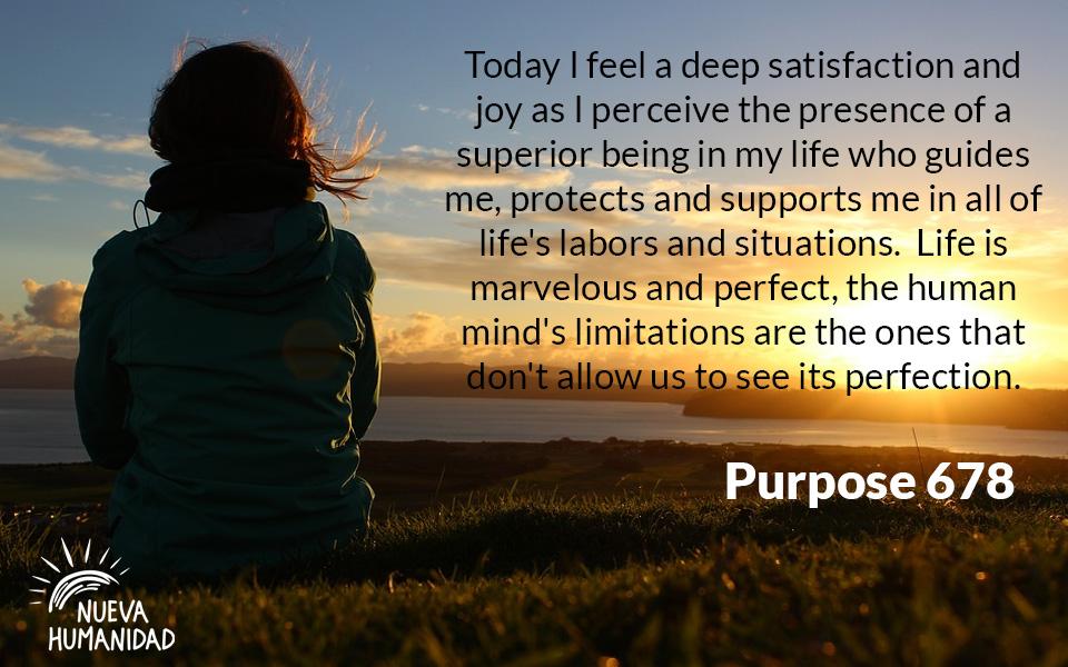 Nueva Humanidad Purpose 678