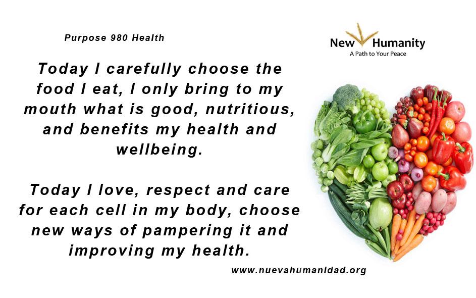 Nueva Humanidad Purpose 980 Health