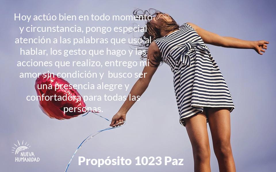 Propósito 1023 Paz