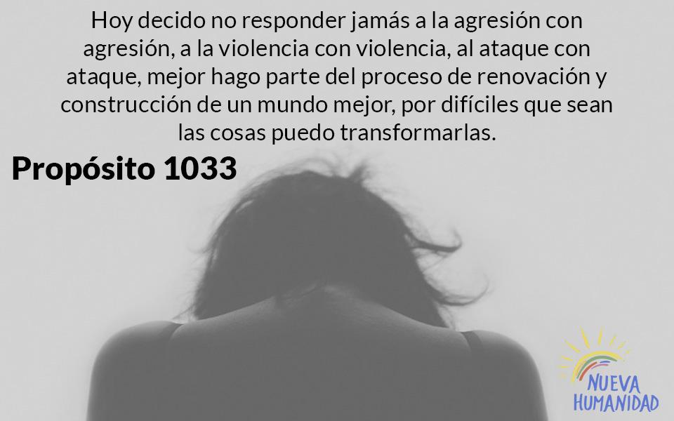 Propósito 1033 Transformación