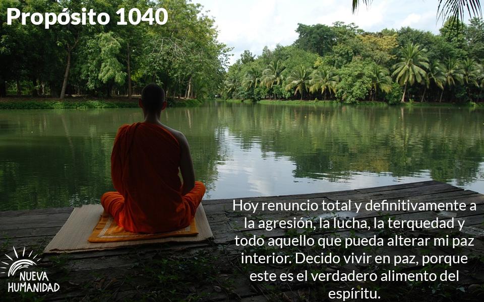 Propósito 1040 Paz