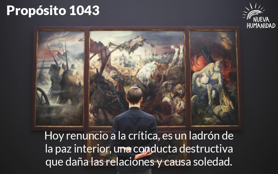 Propósito 1043  La Crítica