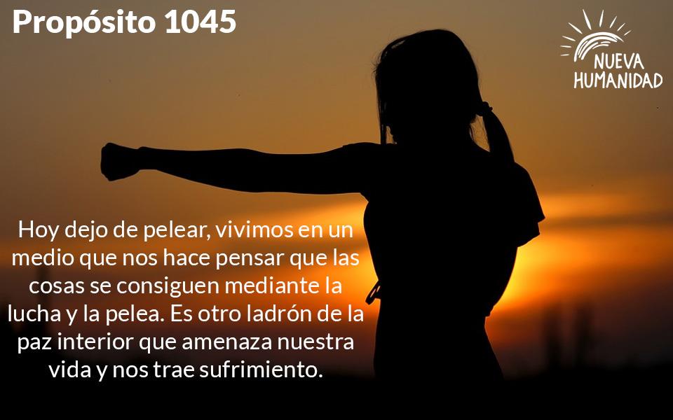 Propósito 1045 La Pelea