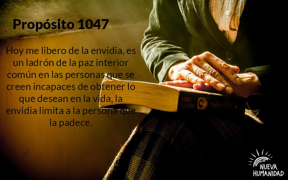 Propósito 1047 La Envidia