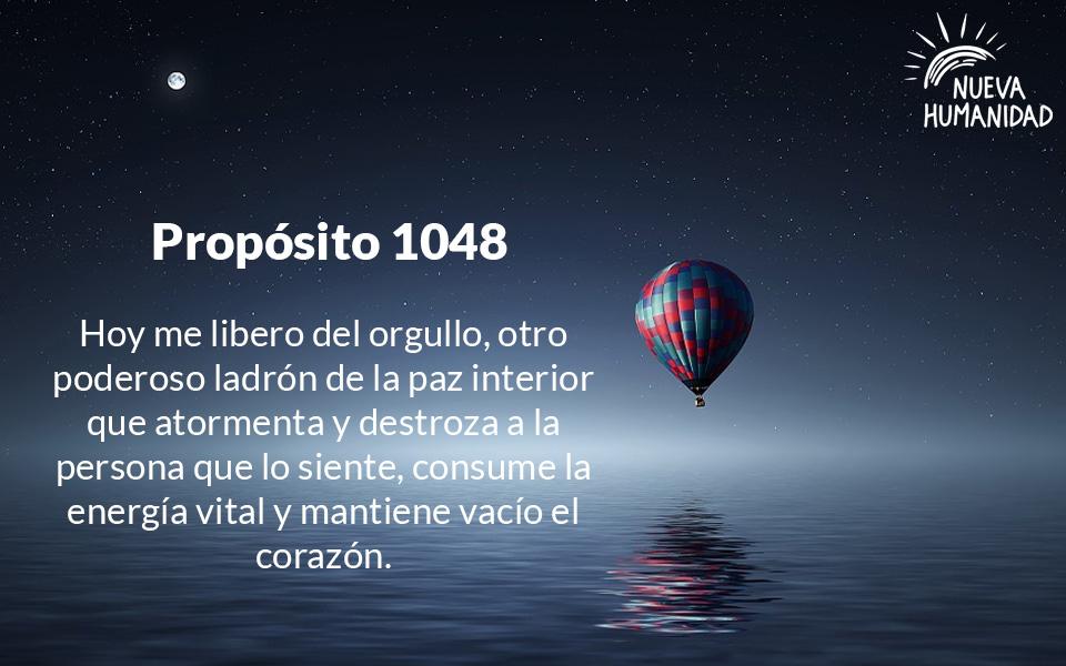 Propósito 1048 El Orgullo