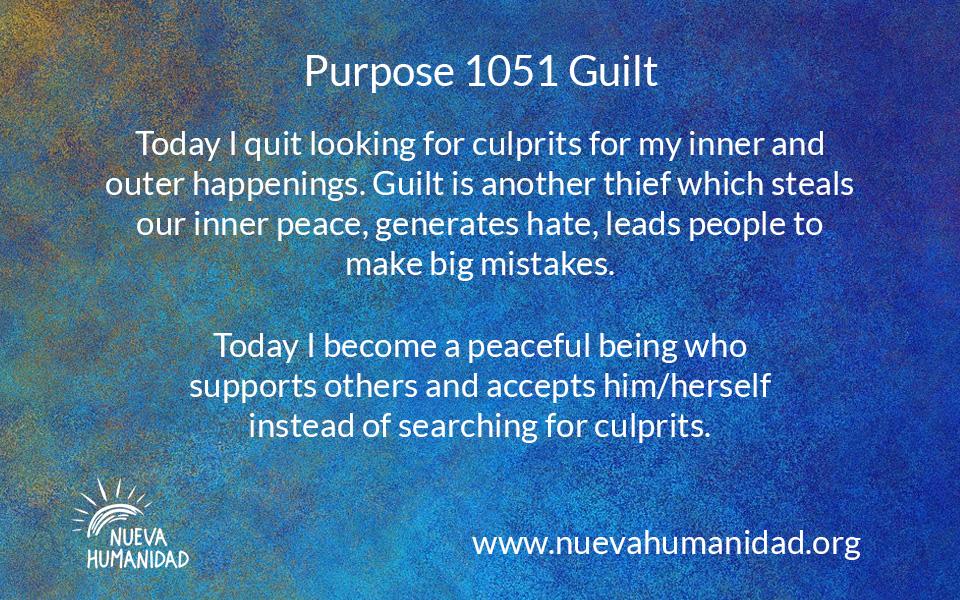 NH Purpose 1051 Guilt