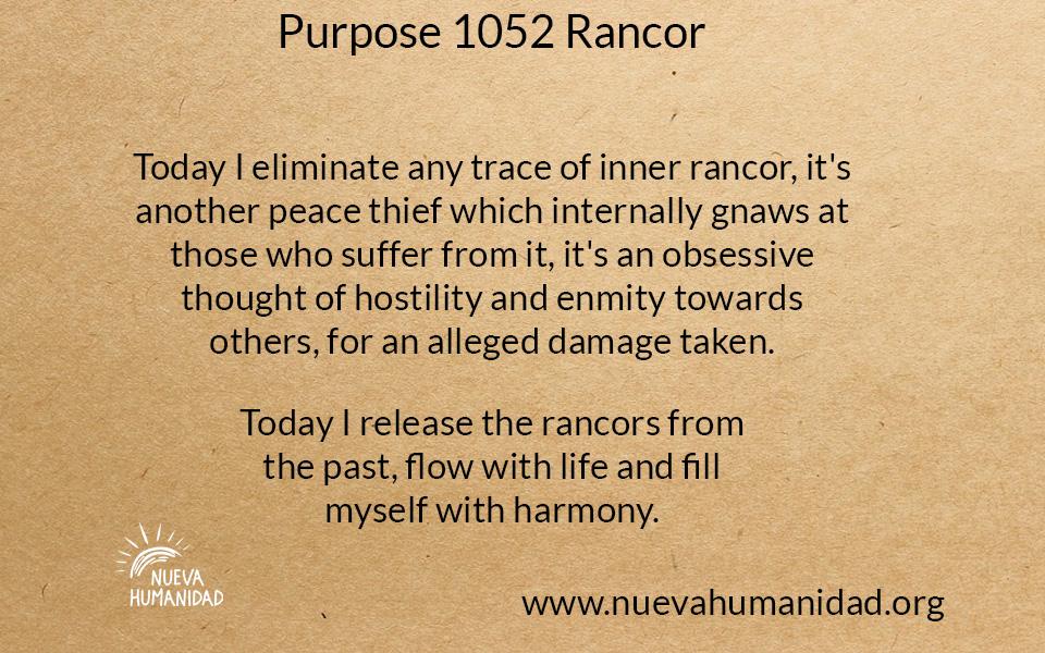 NH Purpose 1052 Rancor