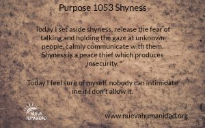 NH Purpose 1053 Shyness