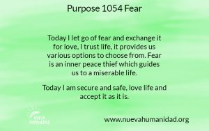 NH Purpose 1054 Fear