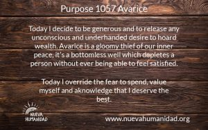 NH Purpose 1057 Avarice