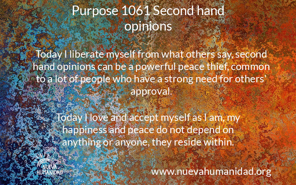 NH Purpose 1061 Second hand opinions