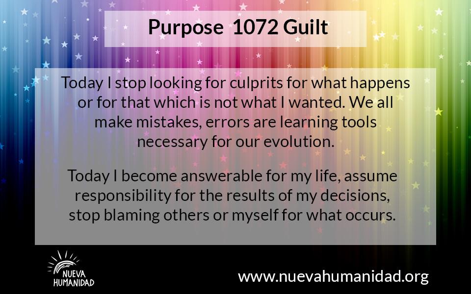 NH Purpose 1072 Guilt