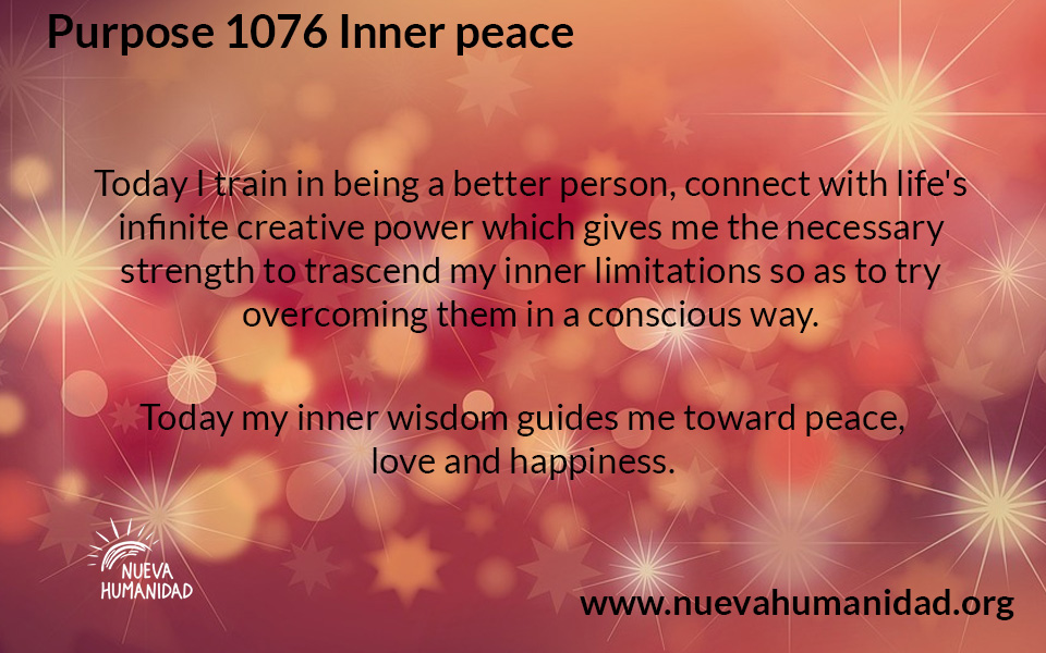NH Purpose 1076 Inner peace