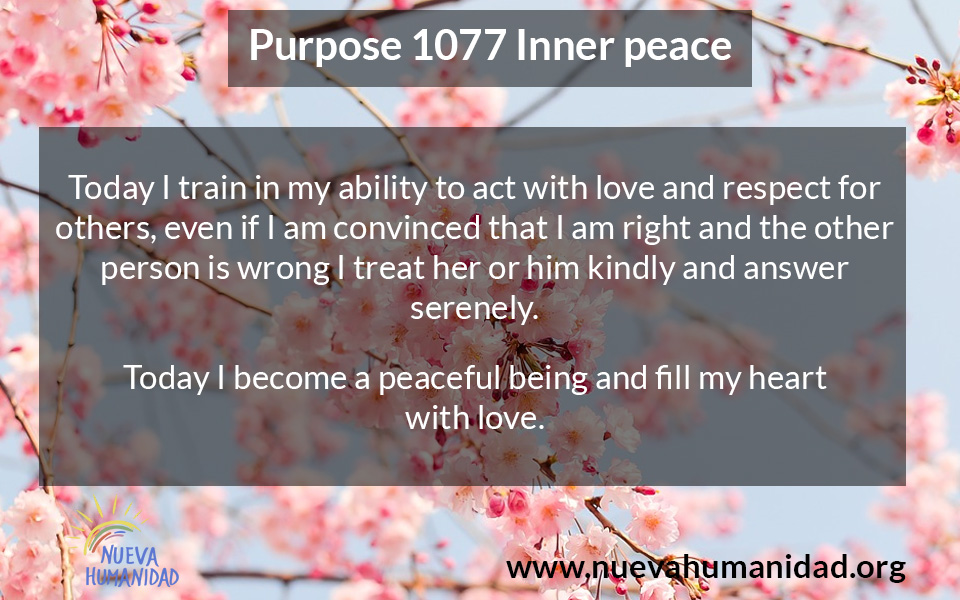NH Purpose 1077 Inner peace