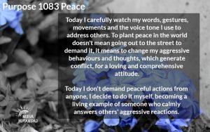 NH Purpose 1083 Peace