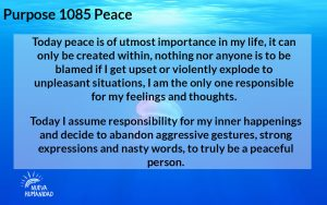 NH Purpose 1085 Peace