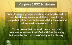 NH Purpose 1092 To dream