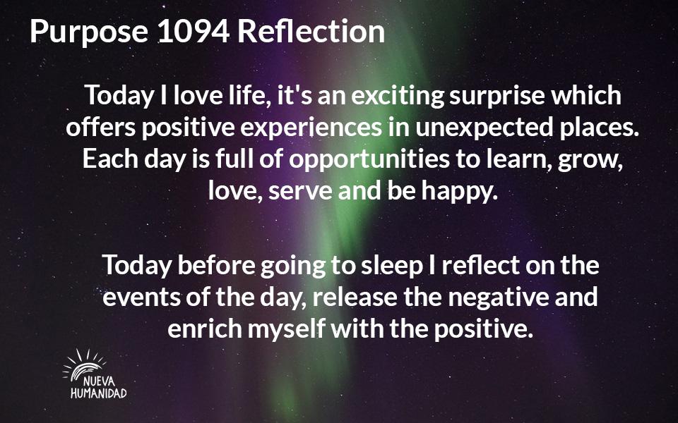 NH Purpose 1094 Reflection