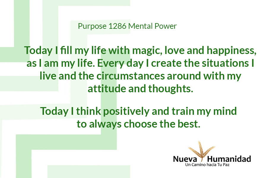 Purpose 1286 Mental Power