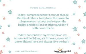 Purpose 1338 Acceptance