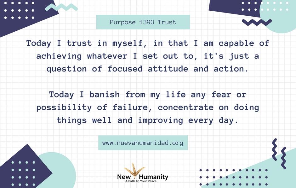 Nueva Humanidad Purpose 1393 Trust