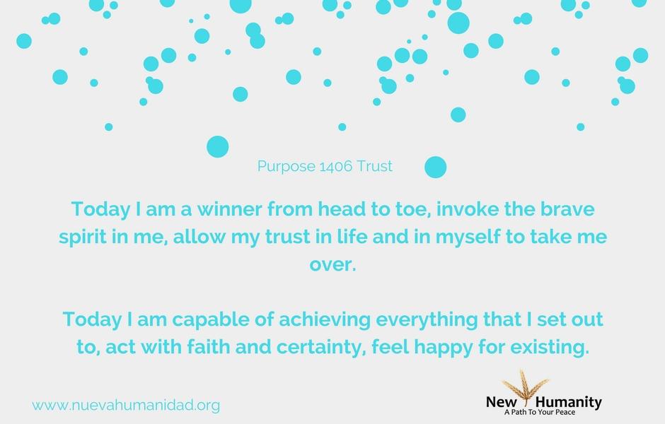 Nueva Humanidad Purpose 1406 Trust