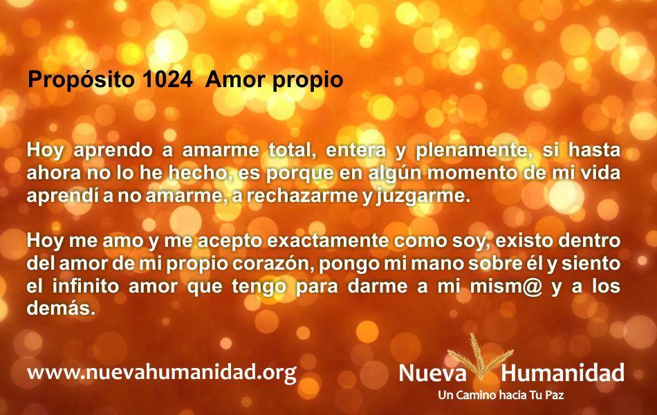 Propósito 1024 Amor propio