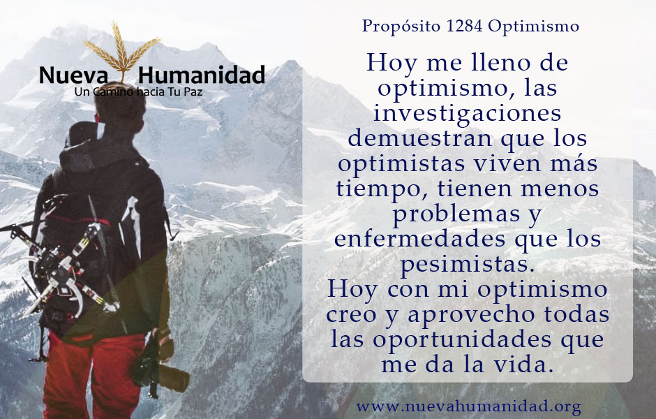 Propósito 1284 Optimismo
