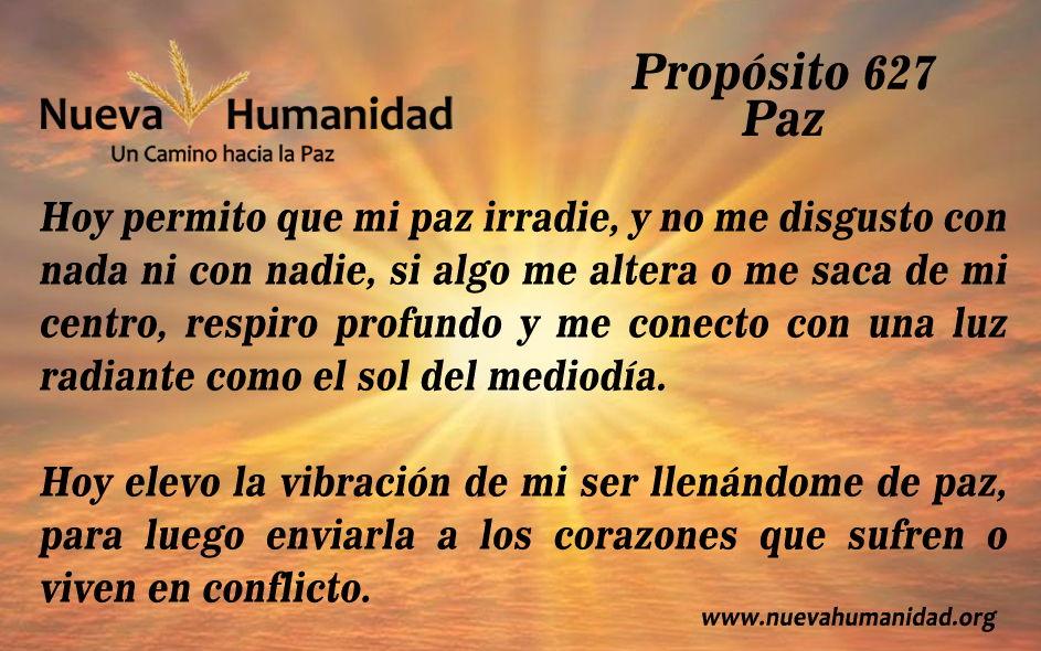 Propósito 627 Paz