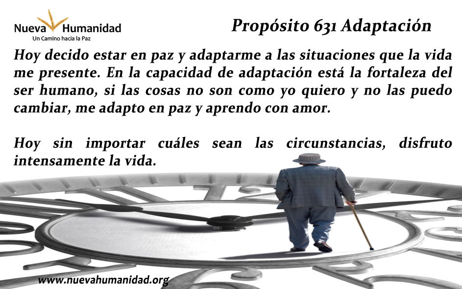 Propósito 631 Adaptación