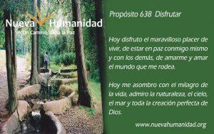 Propósito 638 Disfrutar