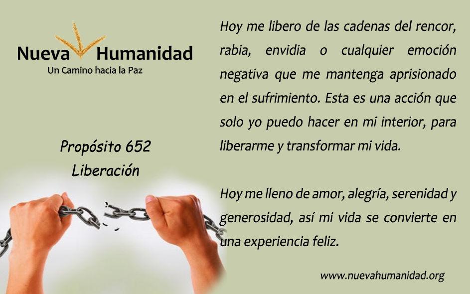 Propósito 652 Liberación