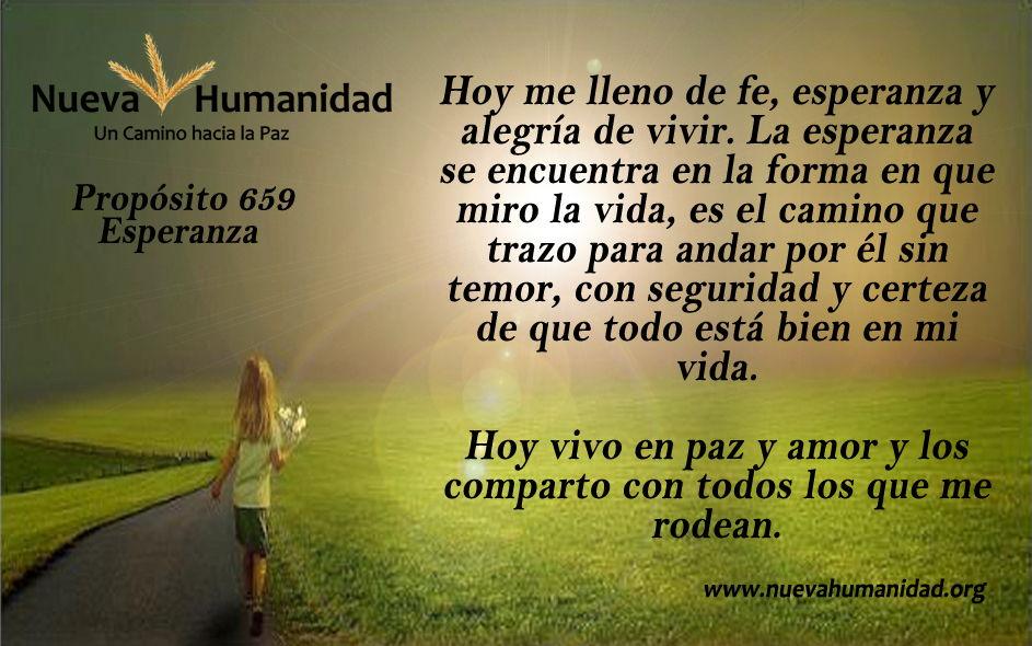 Propósito 659 Esperanza