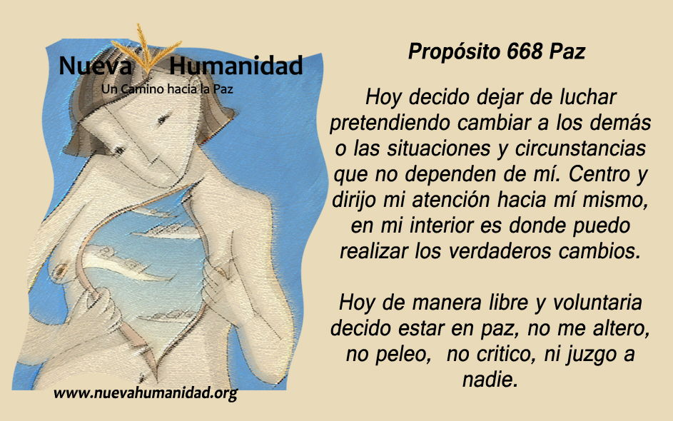 Propósito 668 Paz