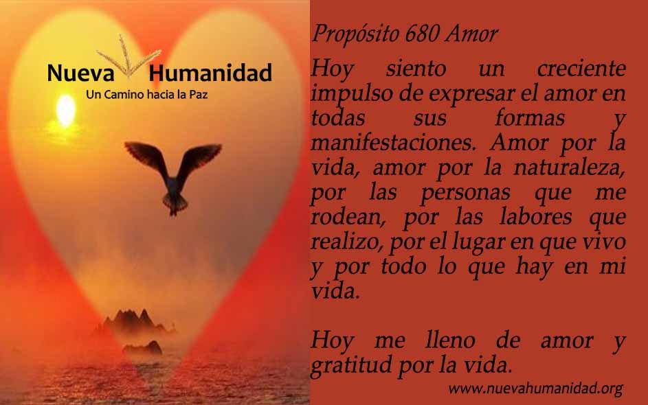 Propósito 680 Amor
