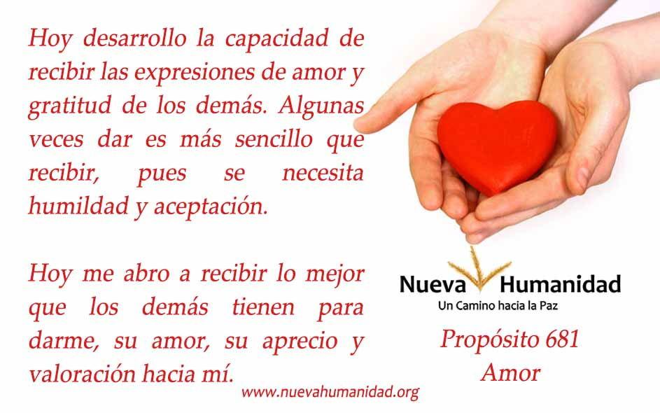 Propósito 681 Amor