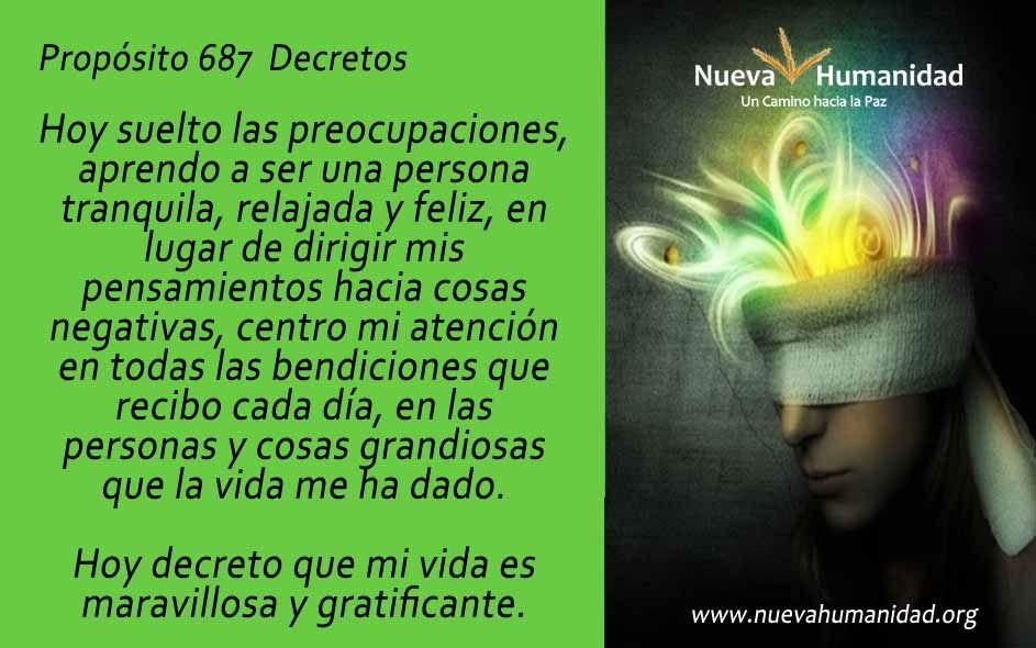 Propósito 687 Decretos