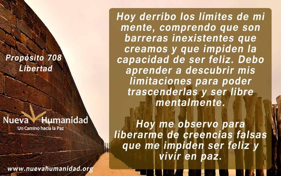 Propósito 708 Libertad