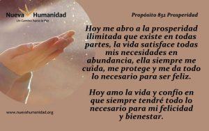 Propósito 832 Prosperidad