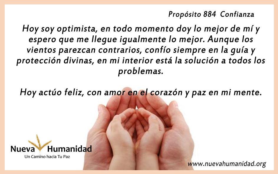 Propósito 884 Confianza