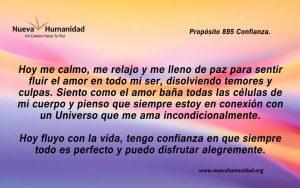 Propósito 895 Confianza