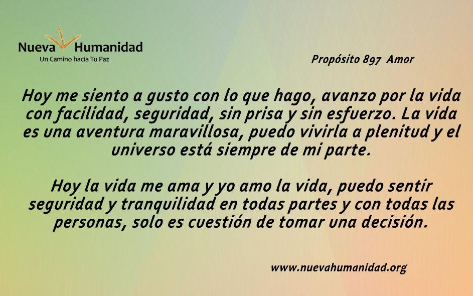 Propósito 897 Amor