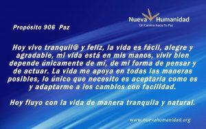 Propósito 906 Paz